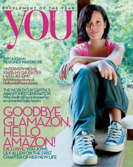 Lily Allen - You Magazine [United Kingdom] (4 July 2010)