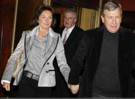 Cecilia Sarkozy and Richard Attias