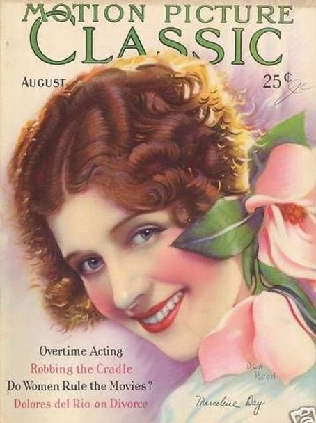 Marceline Day - Motion Picture Classic Magazine [United States] (August 1928)