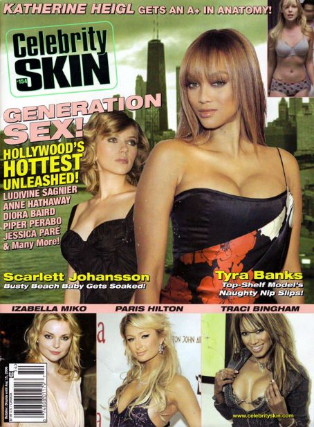 Tyra Banks - Celebrity Skin Magazine [United States] (July 2006)