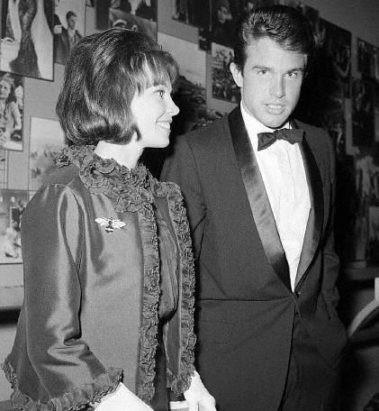 Leslie Caron  and Warren Beatty