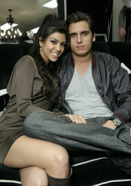 Scott Disick Kourtney Kardashian and