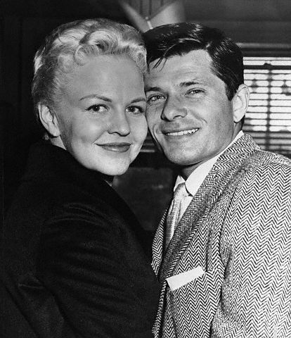 Peggy Lee  and Dewey Martin