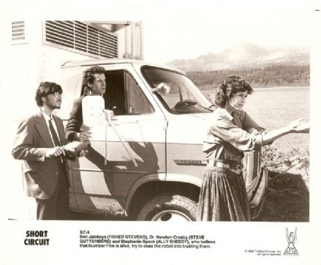 Ally Sheedy Short Circuit Lobby Card (1986)
