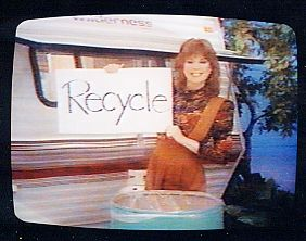 Holly Hallstrom  Reminds Us To Recycle