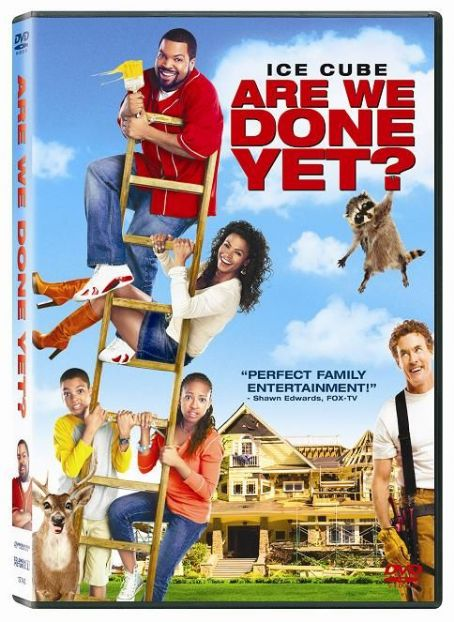 John C. McGinley Are We Done Yet? DVD Box Art