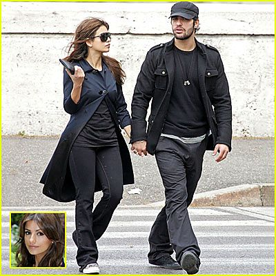 Monica Cruz and Paolo