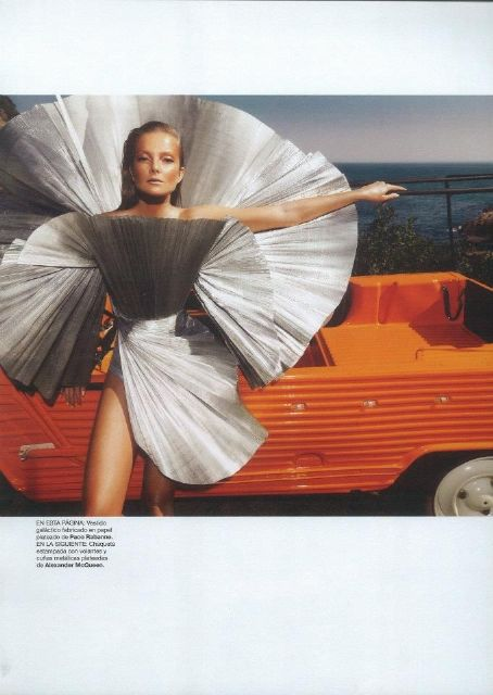 Eniko Mihalik - Harper's Bazaar Magazine Pictorial [Spain] (June 2012)