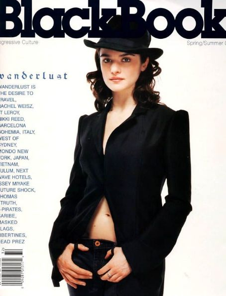 Rachel Weisz - Black Book Magazine Cover [United States] (March 2003)