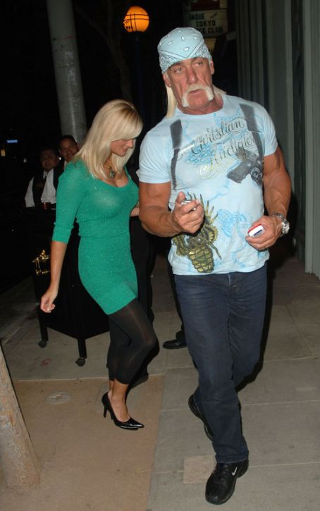 Hulk Hogan  and Christiane Plante
