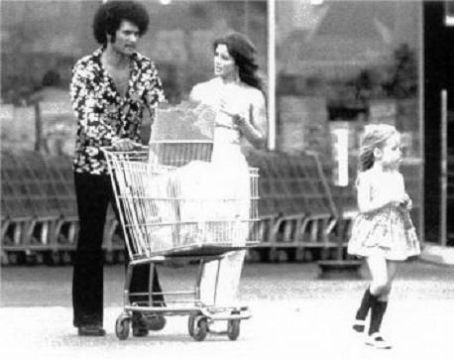 Priscilla Presley and Mike Stone
