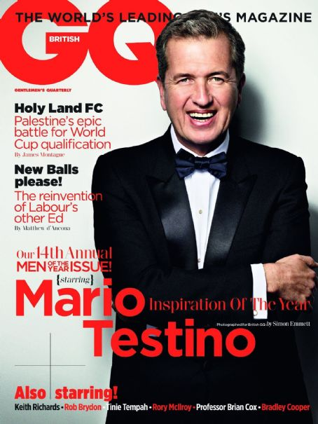 Mario Testino - GQ Magazine Cover [United Kingdom] (5 October 2011)