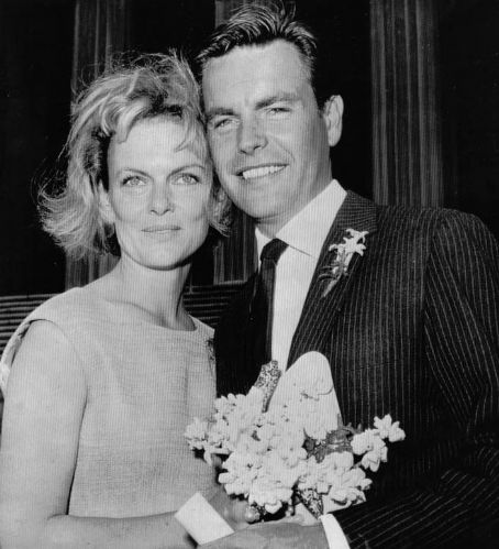Robert Wagner and Marion Marshall