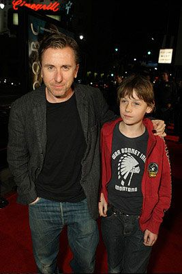 Tim Roth , son Hunter