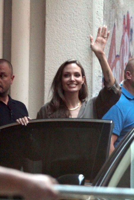 Angelina Jolie out for the 18th Sarajevo Film Festival (July 7)