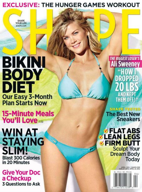 Alison Sweeney Shape Magazine April 2012