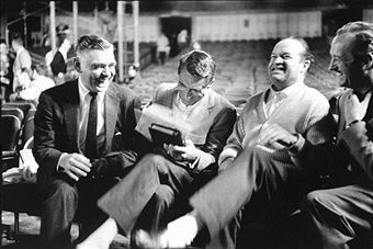 Bob Hope  with Clark Gable, Cary Grant, and David Niven
