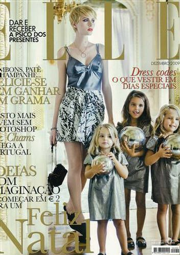 Renata Klem - Elle Magazine Cover [Portugal] (December 2009)