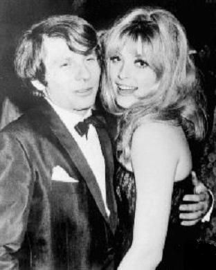 Roman Polanski and Sharon Tate