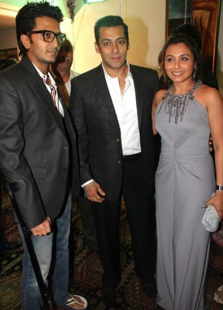 Salman Khan and Rani Mukherjee Bollywood Stars At Dilip Kumar's 89th Birthday Party