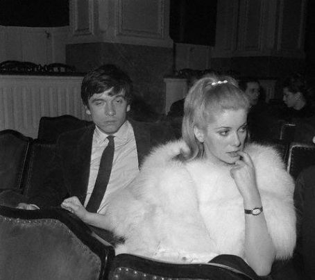 Catherine Deneuve and David Bailey