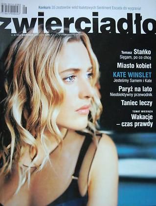 Kate Winslet - Zwierciadło Magazine Cover [Poland] (August 2004)