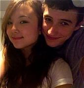 Allie DiMeco  and Sean Beling