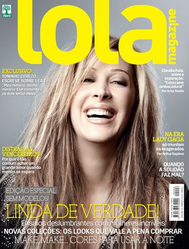 Cláudia Raia - Lola Magazine Cover [Brazil] (March 2011)