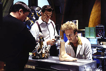 Andy Dick Michael G. Hagerty, Rupert Everett and  in Disney's Inspector Gadget - 1999