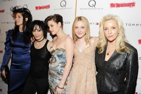 "Cherie Currie - ""The Runaways"" NYC Premiere"