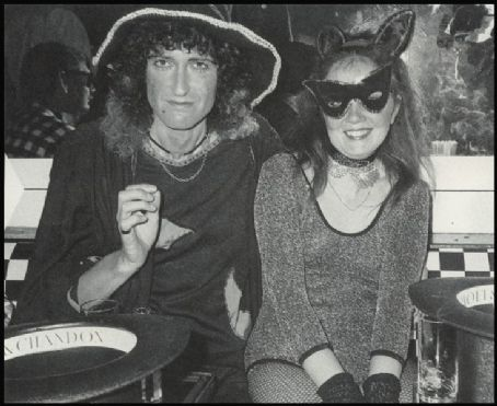 Brian May  and Chrissie May