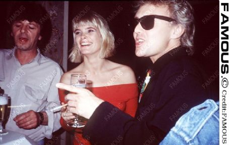 Roger Taylor  and Deborah Leng