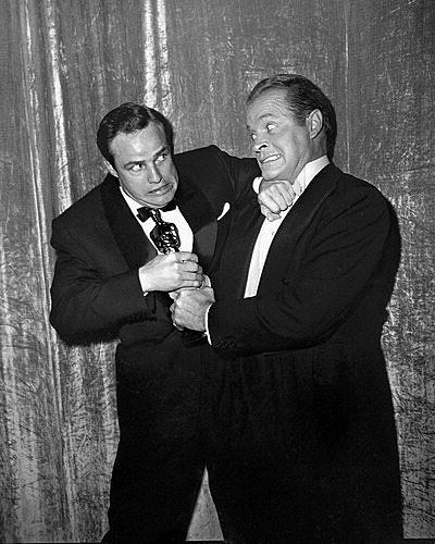 Bob Hope  with Marlon Brando