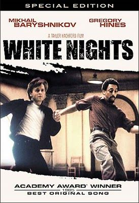 Gregory Hines White Nights Poster