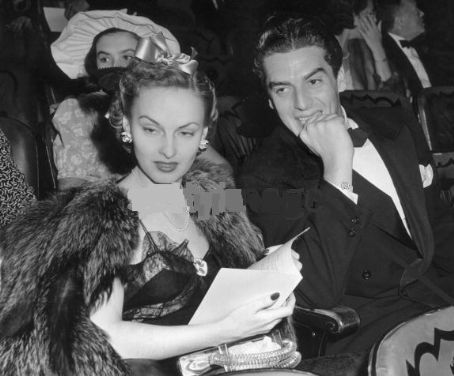 Victor Mature and Martha Stephenson Kemp. ? Back. Photo Credit: Photo Agency