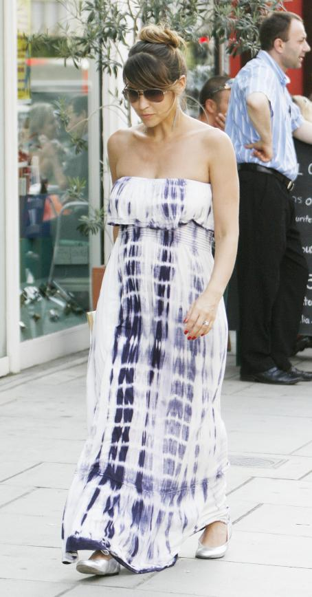 Rachel Stevens and Alex Bourne - Rachel Stevens - Out & About With Alex Bourne In London - July 11, 2010