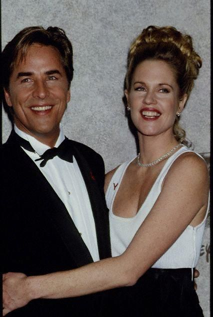 Melanie Griffith Don Johnson and