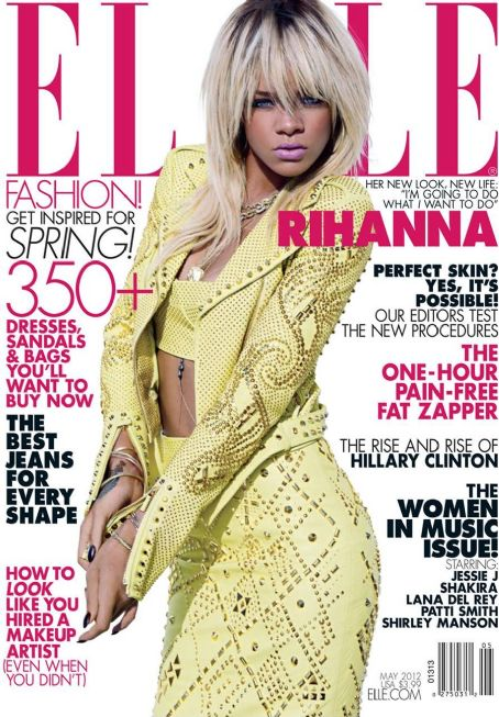 Tom Munro - Rihanna Elle US May 2012