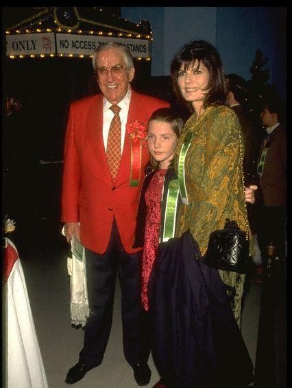 Ed McMahon  and Pam Hurn