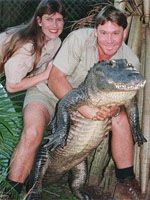 Terri Irwin Steve Irwin and
