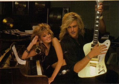 Robbin Crosby and Laurie Carr