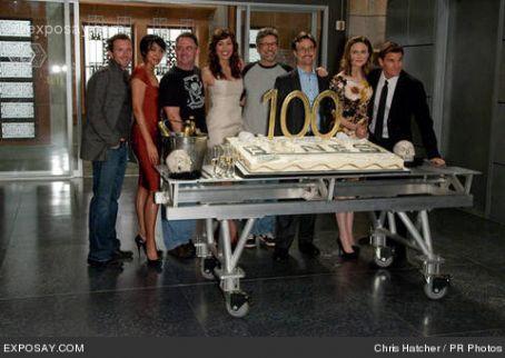 Michaela Conlin Bones 100º episode anniversary.