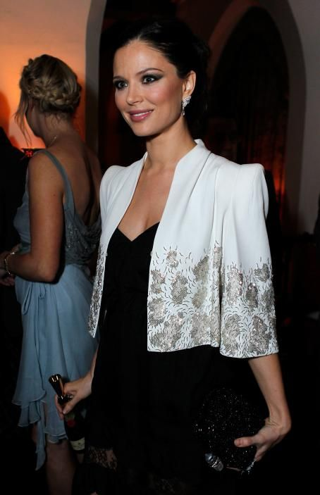 Georgina Chapman - Harvey Weinstein and Dior's Oscar Dinner at Chateau Marmont on February 23, 2011 in Los Angeles, California