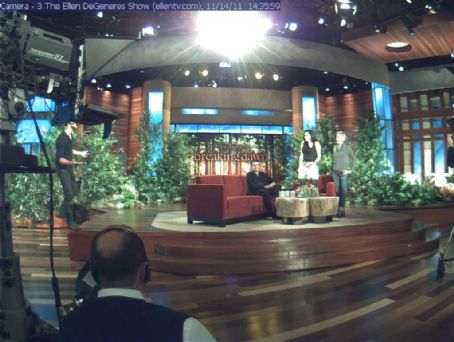 Ellen DeGeneres - Screencaps Of The Breaking Dawn Part 1 Cast On The Ellen Show!