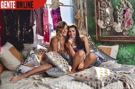 María Eugenia Suárez Mariana Esposito Gente Magazine Pictorial 21 July 2010