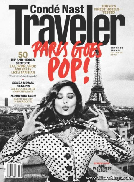 Conde Nast Traveler Magazine Cover [United States] (October 2013)