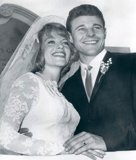 David Nelson  and June Blair