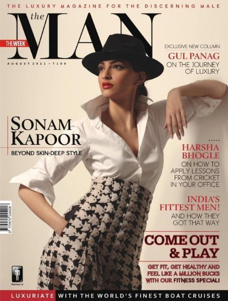 Sonam Kapoor - The Man Magazine Cover [India] (August 2011)