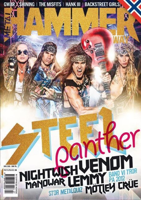 Stix Zadinia, Ralph Saenz, Russ Parrish - Metal&Hammer Magazine Cover [Norway] (December 2011)