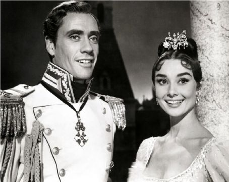 War and Peace Audrey Hepburn and Mel Ferrer in  (1956)